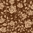 Seamless pattern with roses — Stock Vector #33247101