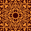 Arabian eastern seamless ornament — Image vectorielle