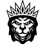 Heraldic crowned Lion — Stock Vector #38273929