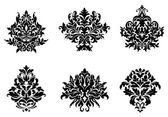 Floral and foliate design elements — Vecteur