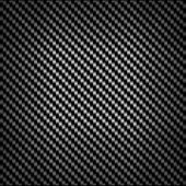 Carbon or fiber background texture — Stock Vector