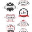 Premium quality label collection — Stock Vector #39131025