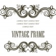 Vintage framing header and footer — Stock Vector #39131173