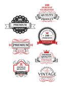Premium quality label collection — Vetorial Stock