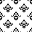 Damask-style arabesque seamless pattern — Stock Vector