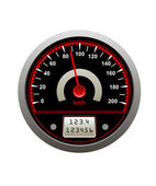 Speedometer icon — Stock Vector