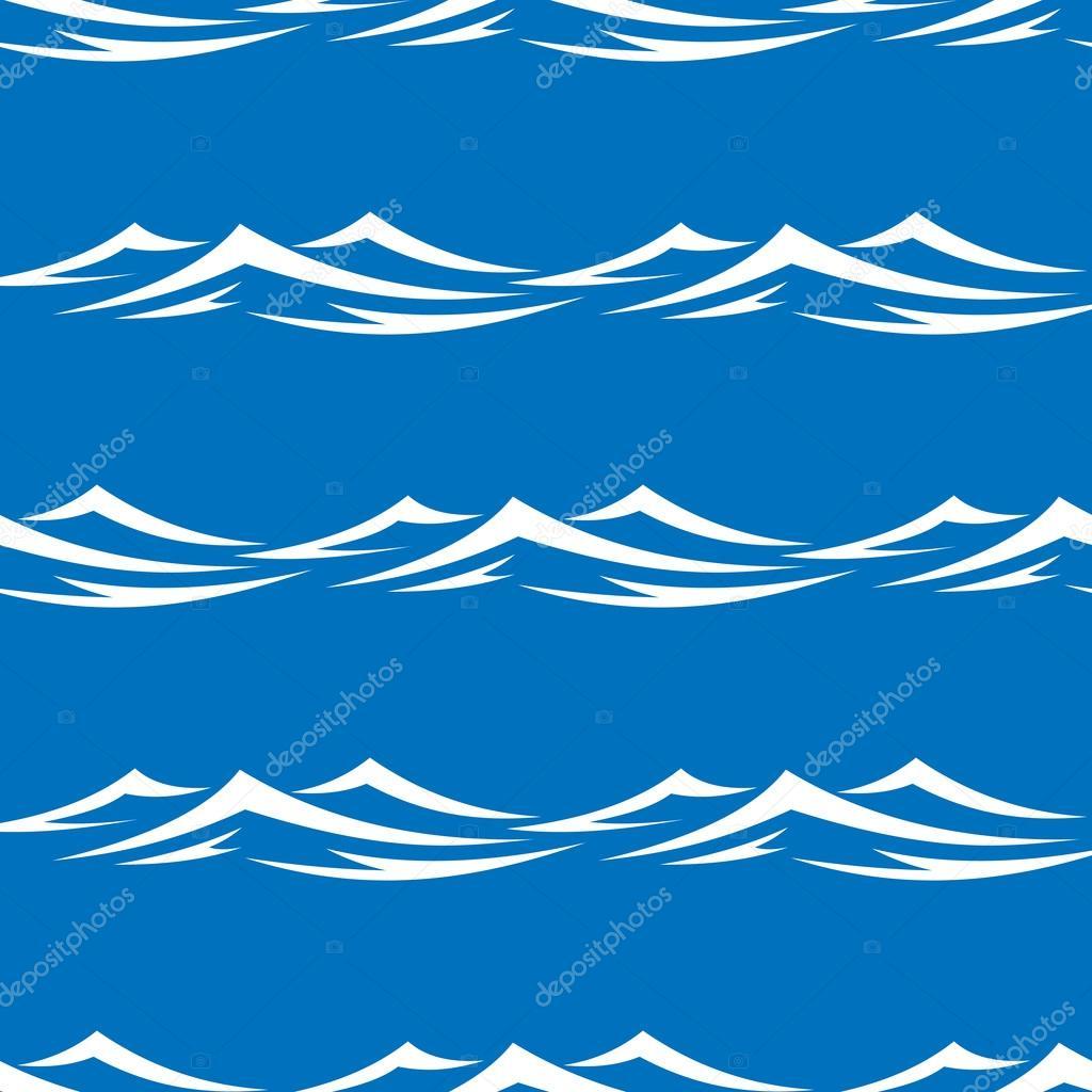 Как сделать ленты морской волны