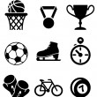 Collection of sports icons — Stock Vector #40490667