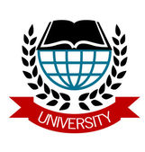 University emblem — Stock Vector