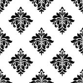 Foliate seamless pattern background — Vecteur