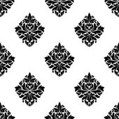 Floral arabesque motifs seamless pattern — Stockvector