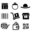 Shiopping icons set — Stock Vector #42299561