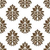 Damask style arabesque pattern — Stock Vector