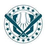 Baseball emblem or banner — Stock Vector