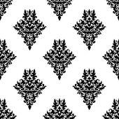 Damask seamless retro pattern — Stock Vector