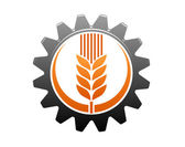 Agriculture and industry icon — Stock Vector