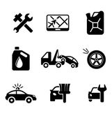 Set ofcar service and automobile icons — Stockvector