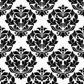 Damsk seamless pattern — Stock Vector