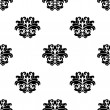 Retro seamless damask pattern — Vettoriale Stock