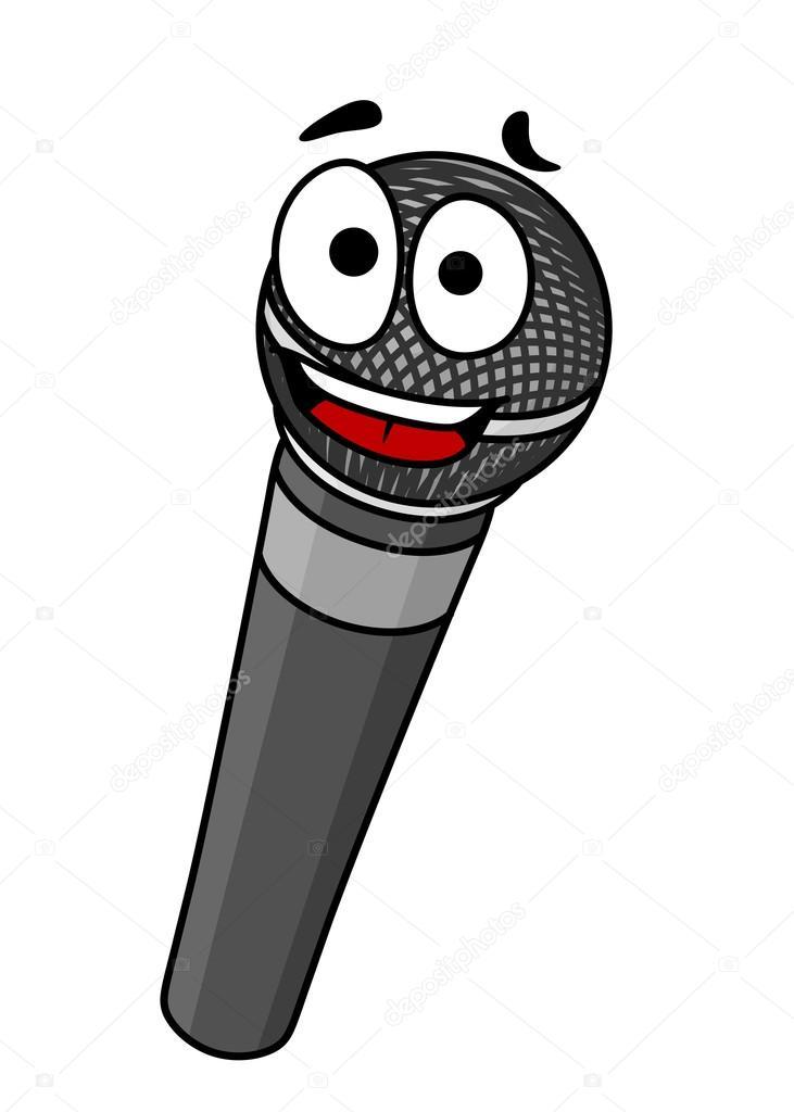 Микрофон рисован