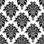 Ornate bold foliate seamless pattern — Vecteur
