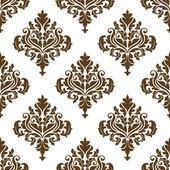 Beautiful retro seamless pattern — Stock Vector