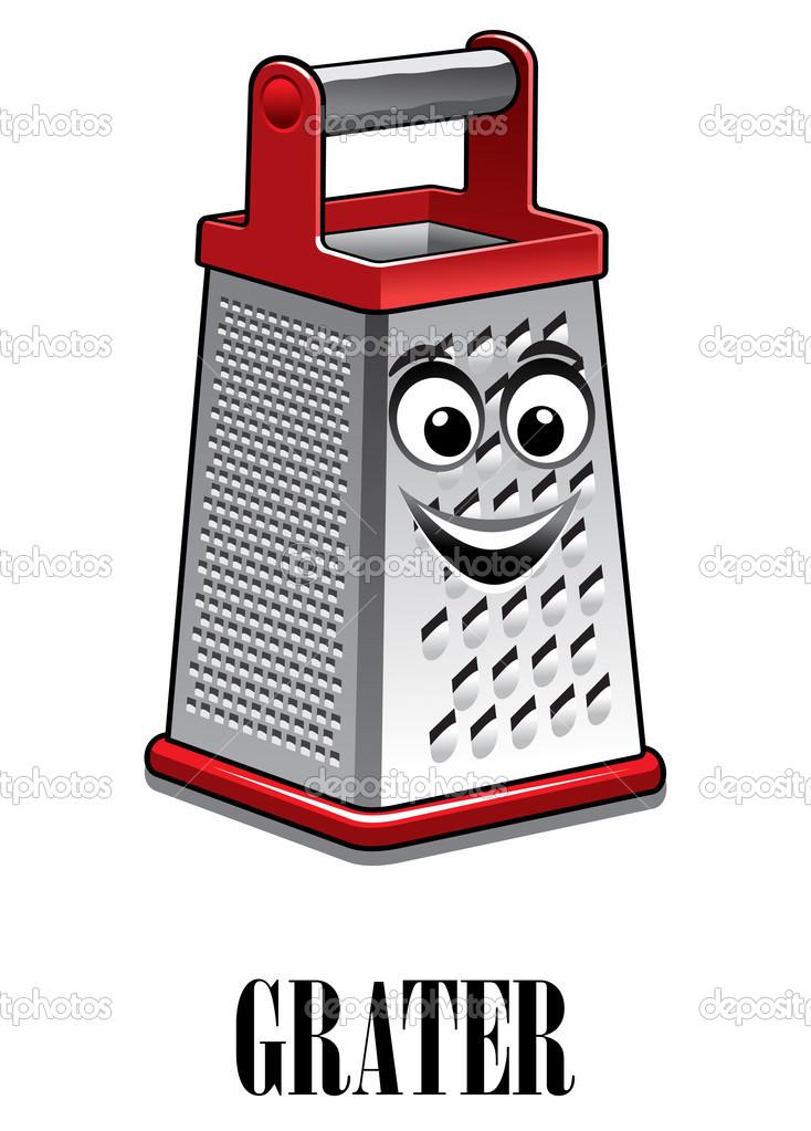 Rallador de cocina de acero inoxidable archivo im genes for Rallador de cocina