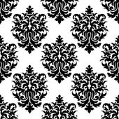 Decorative seamless floral pattern background — Stock Vector