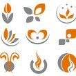 Set of abstract symbols — Stock Vector #4651202