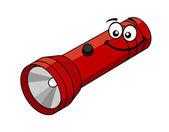 Cartoon flashlight — Stock Vector