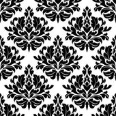 Retro damask seamless pattern — Stock Vector