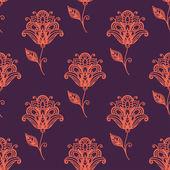 Persian paisley seamless pattern — Stock Vector