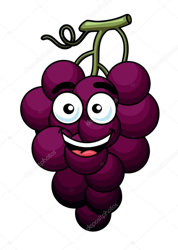 Rama de uva morada — Vector de stock © Seamartini #46566927