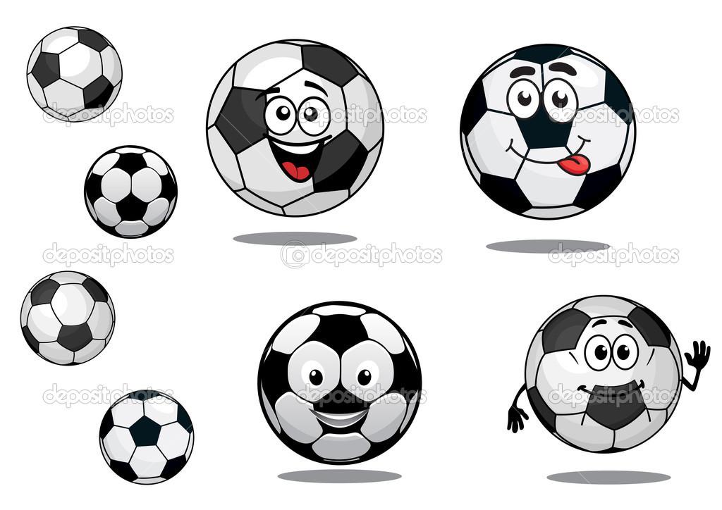 Fondos De Pantalla Fútbol Pelota Silueta Deporte: Pelotas De Fútbol O Fútbol Dibujos Animados