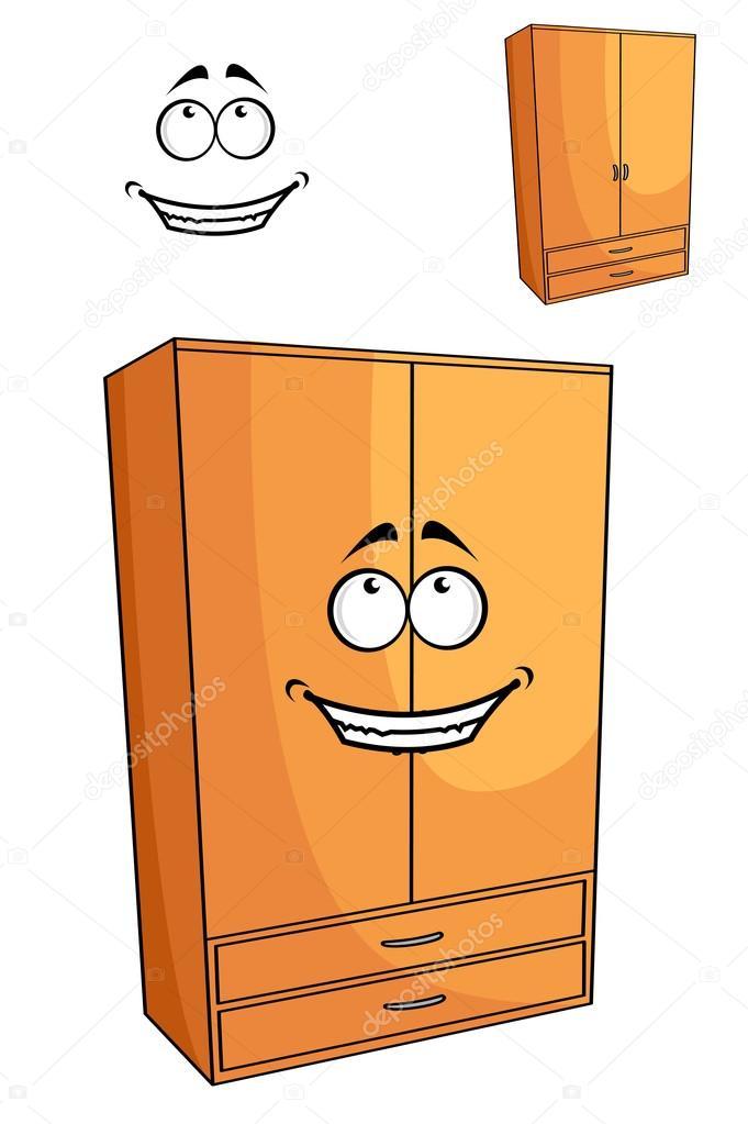 Armoire de chambre coucher en bois de dessin anim ou - Dessin d armoire ...