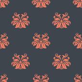 Dainty vintage damask style pattern — Stock Vector