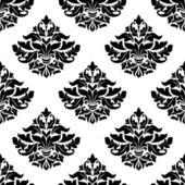 Royal damask seamless pattern — Stock Vector