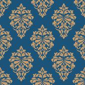 Elegance floral damask seamless pattern — Stock Vector