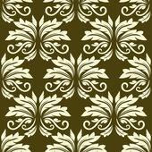 Vzor květinové bezešvé arabeska — Stock vektor