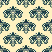 Vintage floral seamless pattern background — Stock Vector