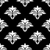 Classic retro seamless floral pattern — Stock Vector