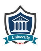 эмблема университета — Cтоковый вектор