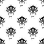 Persian paisley seamless pattern — Vector de stock