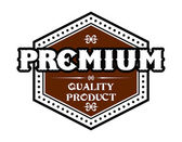 Premium Quality Product label — Stock Vector