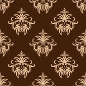 Brown and beige seamless pattern — Vetorial Stock