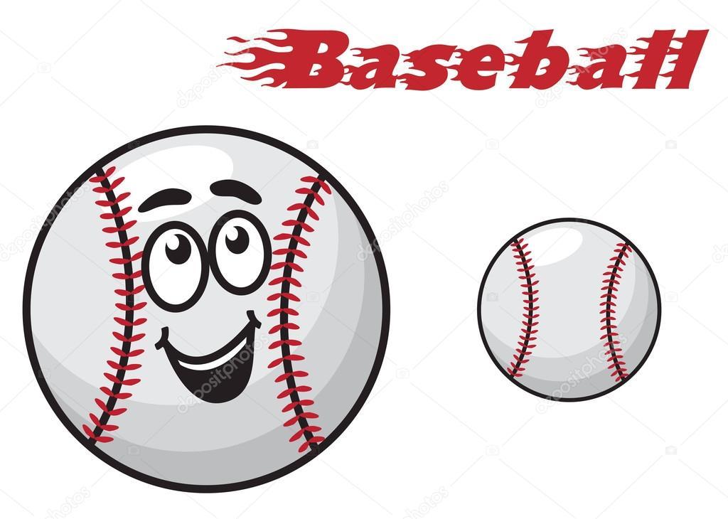 Balle De Baseball Dessin Animé