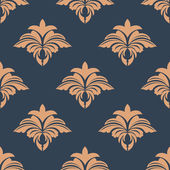 Dainty retro floral seamless pattern — Stock Vector