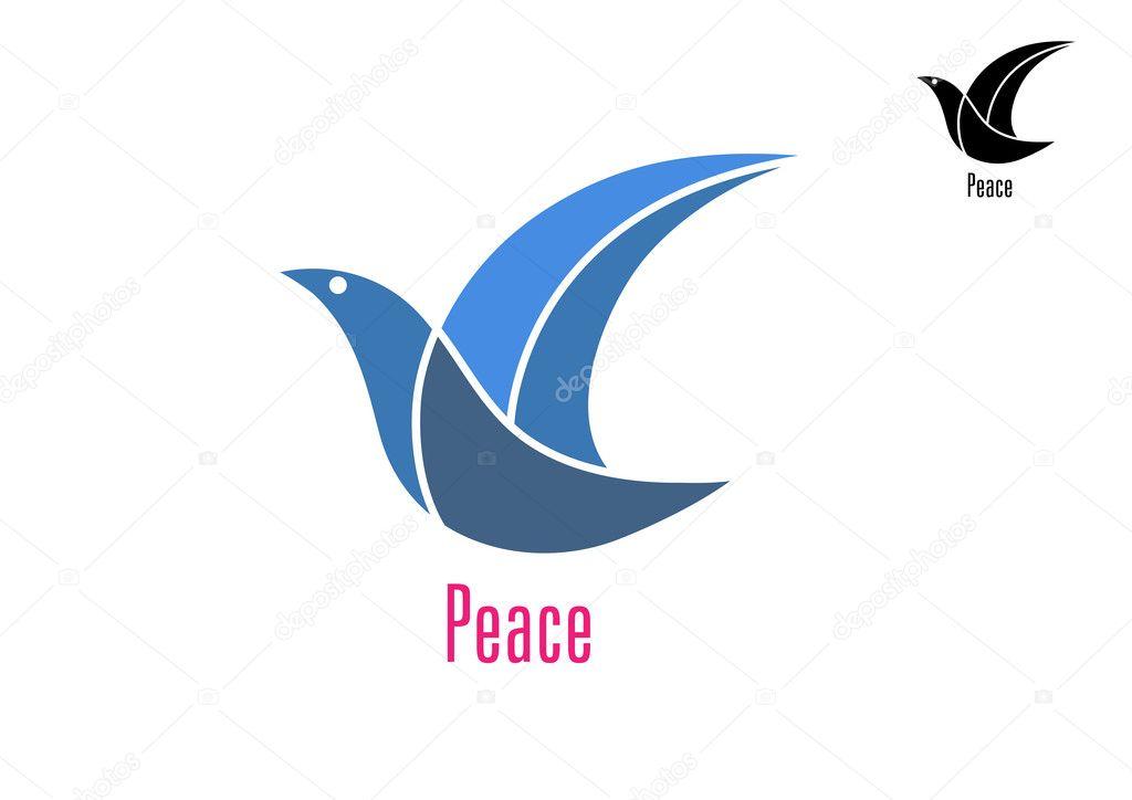 Dove bird peace sign - photo#26