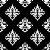 Arabesque seamless floral pattern — Stock Vector