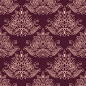 Persian seamless floral pattern — Stock Vector